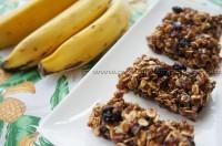 Barrinha de Cereal de Banana