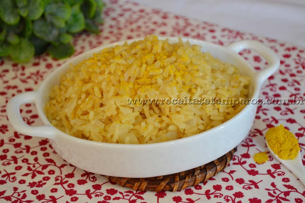 Arroz Integral com Curry
