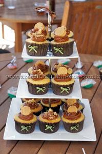 Cupcake de Paçoquinha