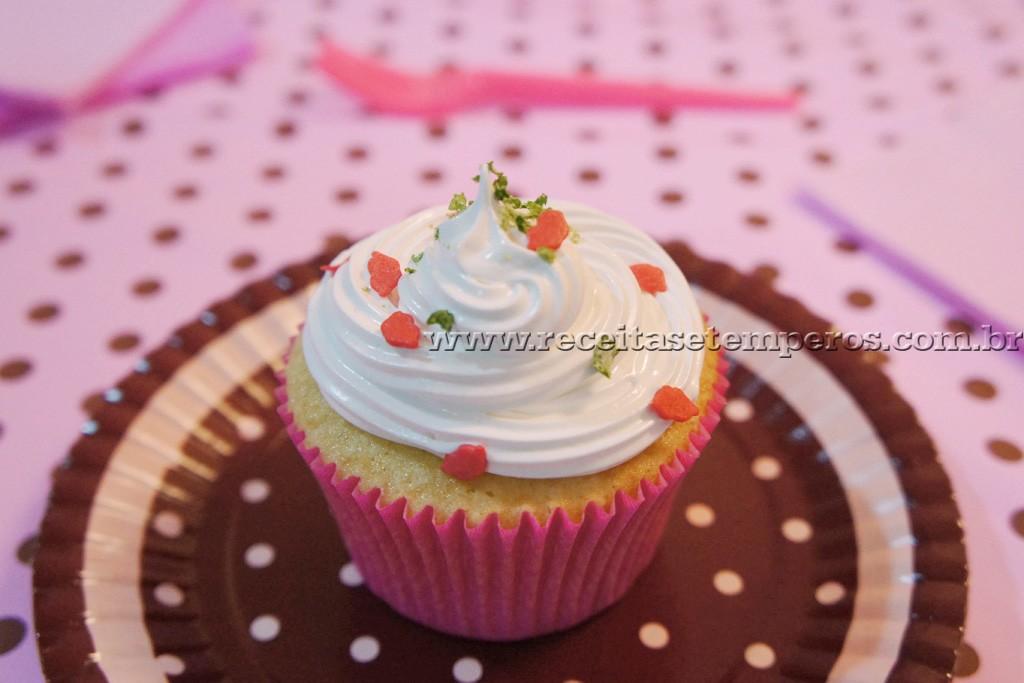 Cupcake Tortinha de Limão