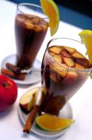 Chá de hortelã gelado com especiarias