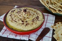 Pasta de grão de bico – Homus