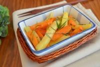 Legumes assados com sal grosso e alecrim