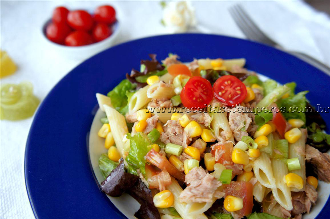 Salada de Massa com Atum