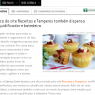 Muffin sem glúten do Receitas e Temperos no Catraca Livre
