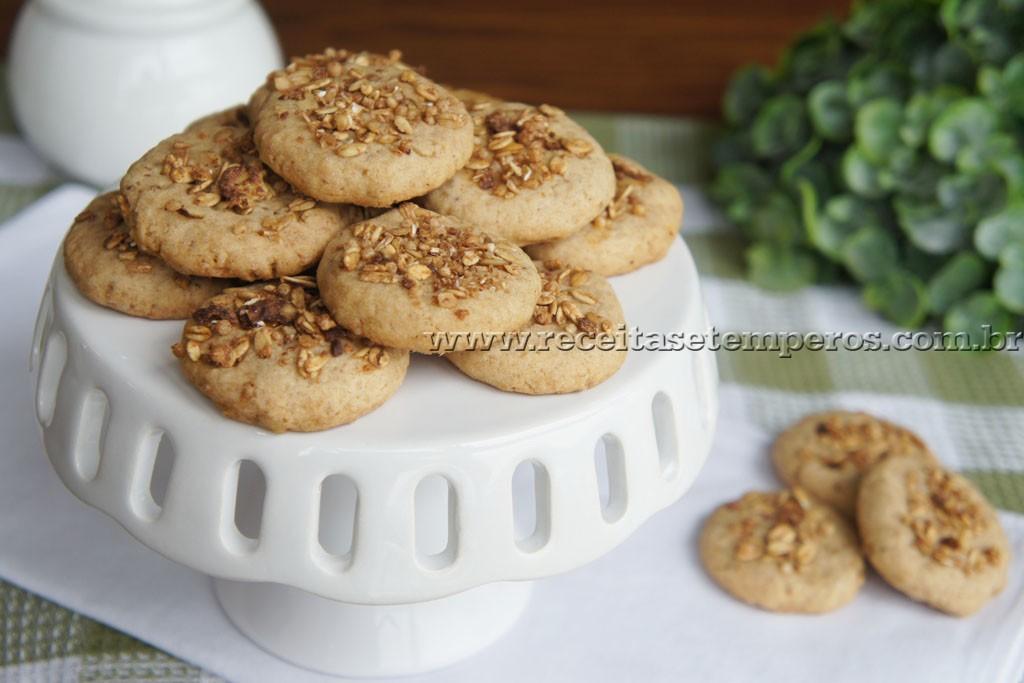 Biscoitinhos de Granola