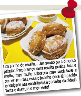 Coluna de Gastronomia no Jornal Visão Oeste SP em novembro