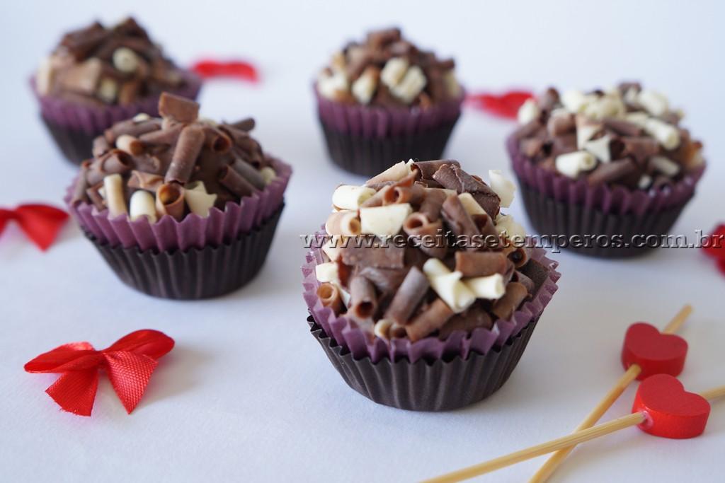 Brigadeiro Gourmet de chocolate belga