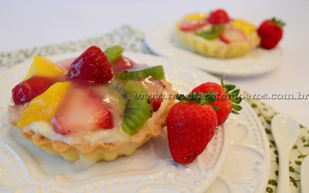 Tortinha delícia de frutas