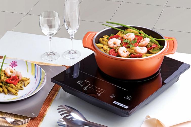 Cooktop portátil, facilidade e elegância para você!