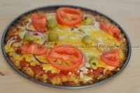 Pizza Low Carb (baixo carboidrato)
