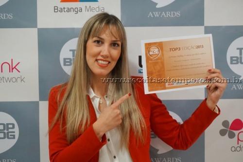 Prêmio TOP BLOG - Gastronomia