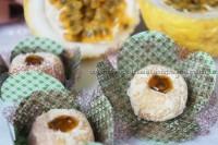 Brigadeiro gourmet de maracujá