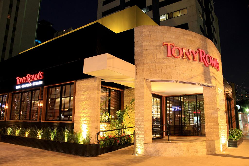 SteakHouse de qualidade, Tony Roma´s