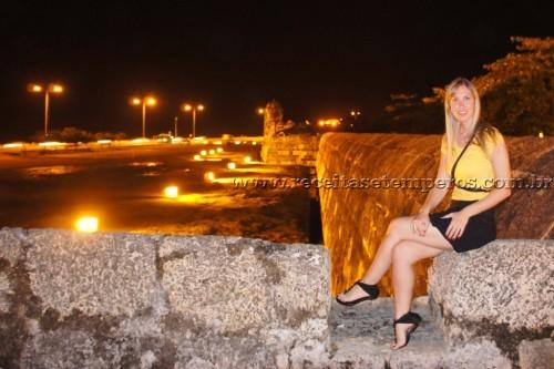 Cartagena das Índias é colorida, charmosa e cultural...