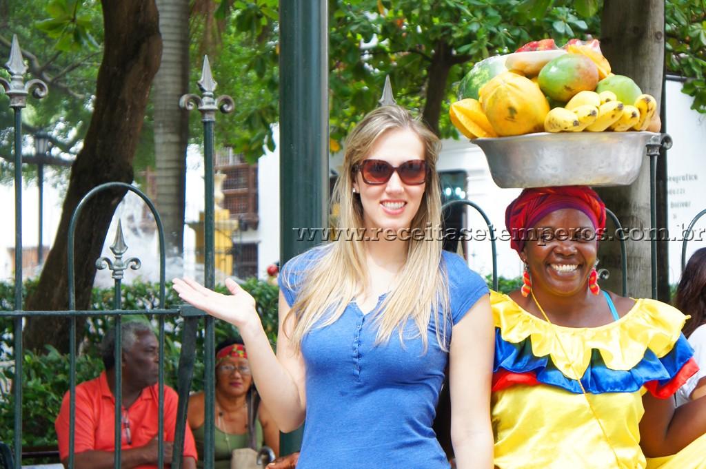 Cartagena das Índias é colorida, charmosa e cultural…
