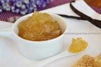 Geleia de pera, baunilha e limão