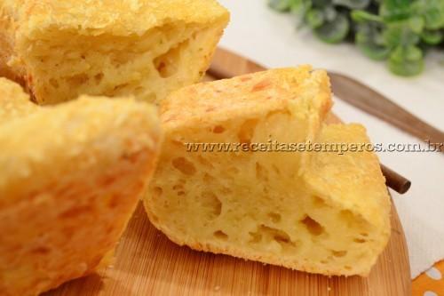 Pão de queijo de forma