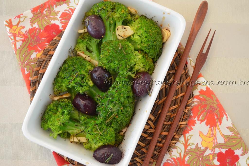 Brócolis assado