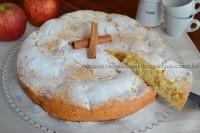 Bolo de  maçã (de liquidificador)