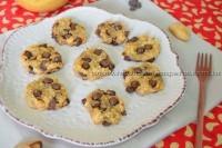 Cookies de banana, quinoa e chocolate- sem glúten