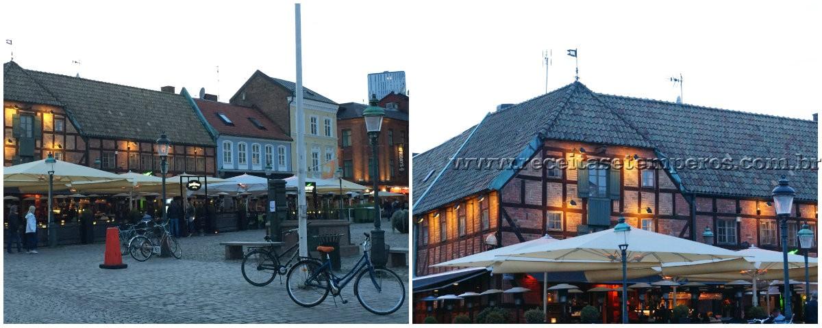 Uma noite em Malmö na Suécia