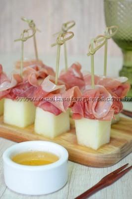 Melão com presunto Parma