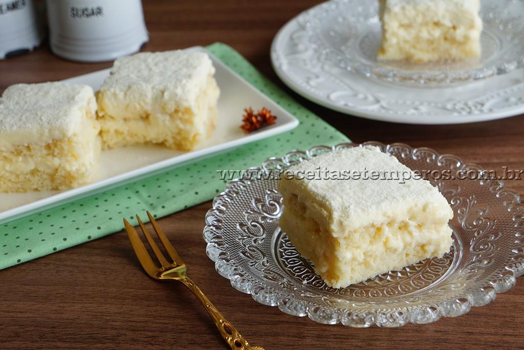 Super Receita de Bolo gelado de leite ninho - Receitas e Temperos NQ38