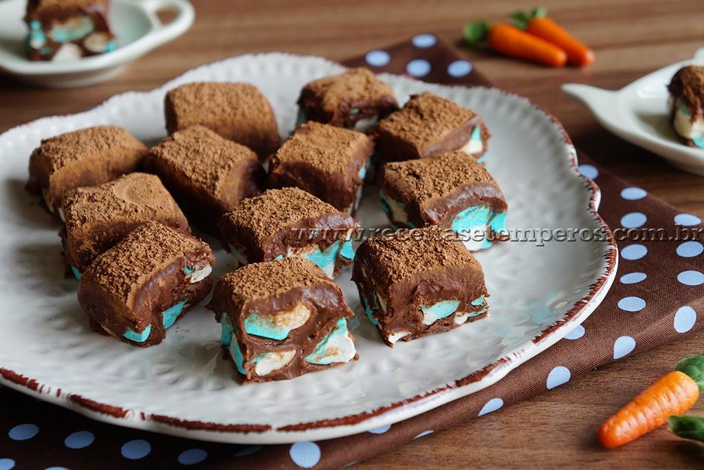 Biscoito Waffle Listrado para Sorvete - Danielle Noce
