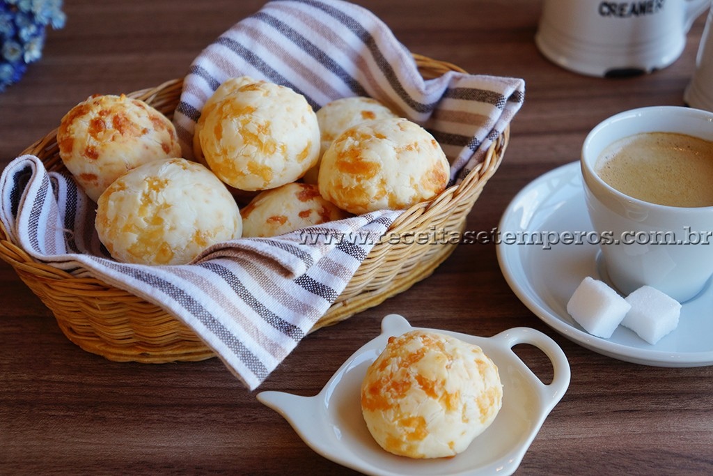 Pão de queijo *com 3 ingredientes*