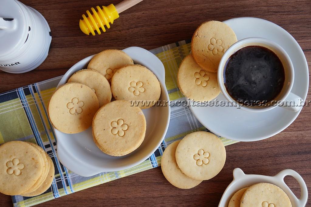 Biscoitinhos de mel - SEM GLÚTEN