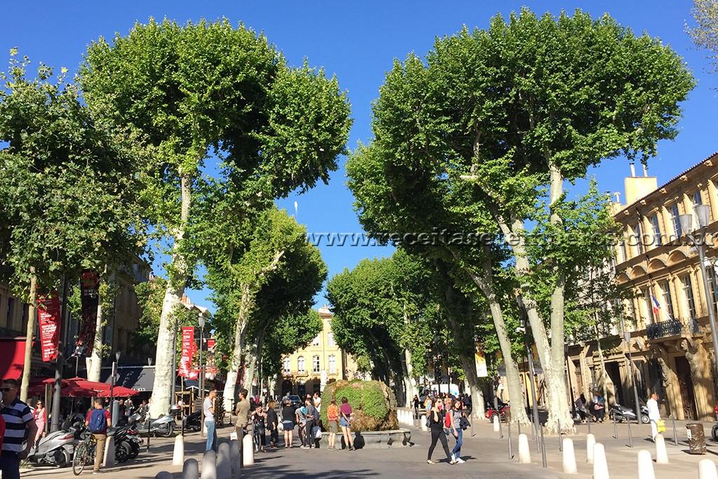 Destino: Aix-en-Provence / FRANÇA