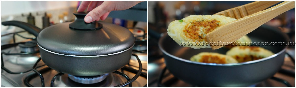 Bolinho de arroz (sem fritar)