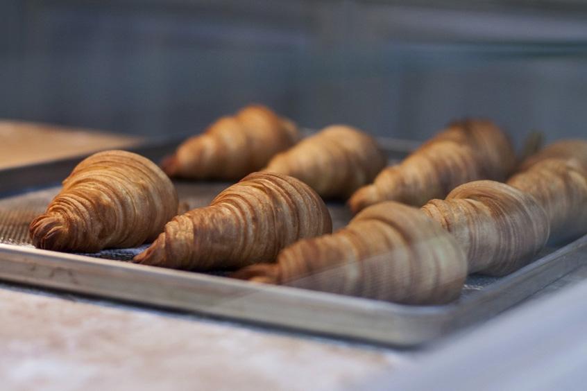 Croissant amanteigado – prático