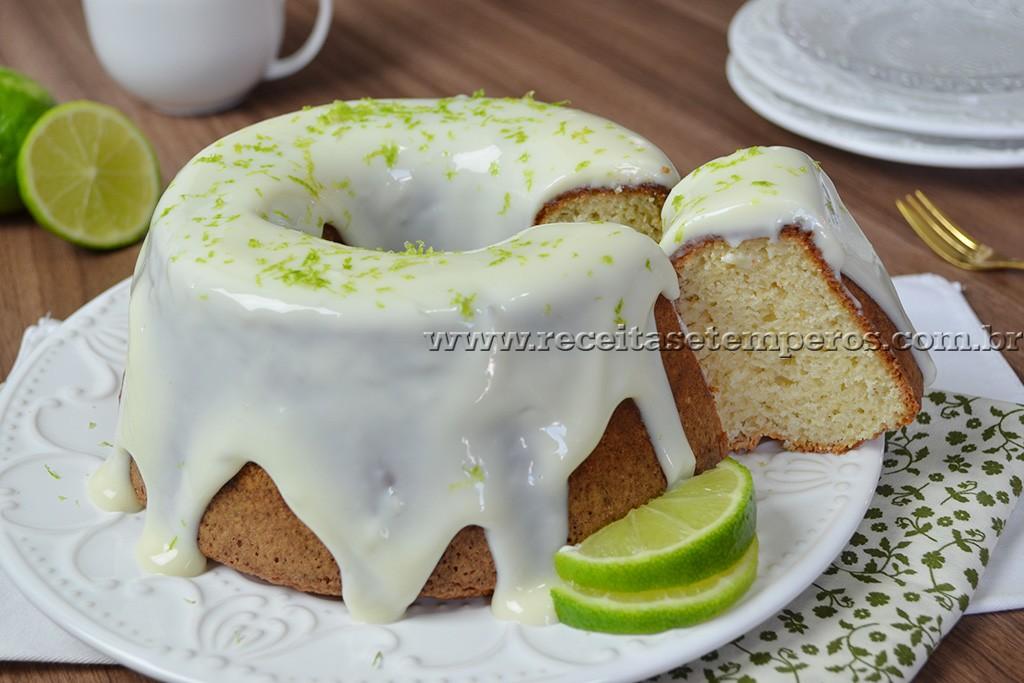 Cobertura de bolo de limao