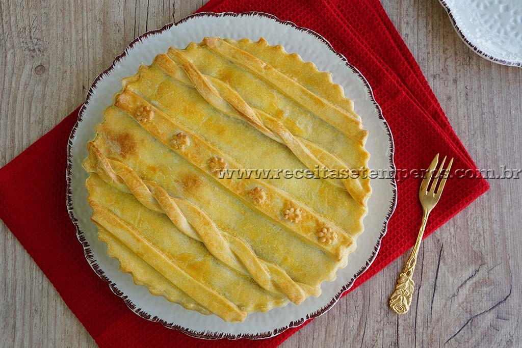 Torta Salpicão de Frango