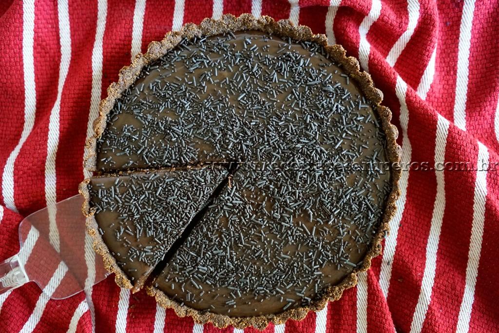 Torta de brigadeiro – fácil
